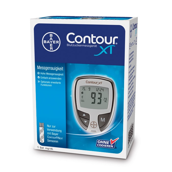CONTOUR XT-Set mg/dl