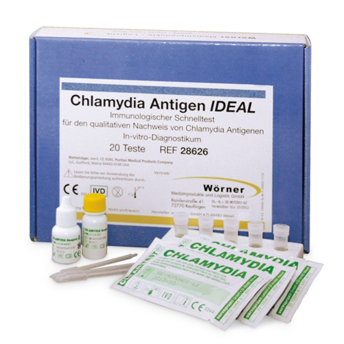 Chlamydia-IDEAL Antigen Kassettentest