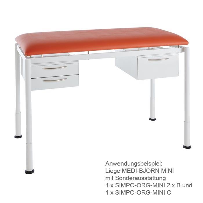 Unterbau-Schublade SIMPO-ORG MINI C