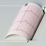 Original Schiller EKG-Druckerpapier Cardiovit AT-1 G2  (VE = 25 Lagen)