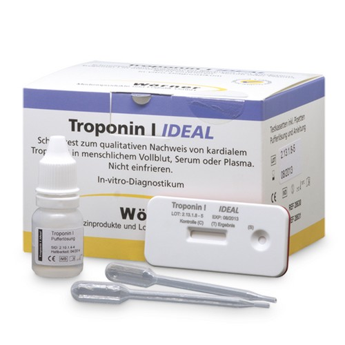 Troponin I IDEAL Kassettentest