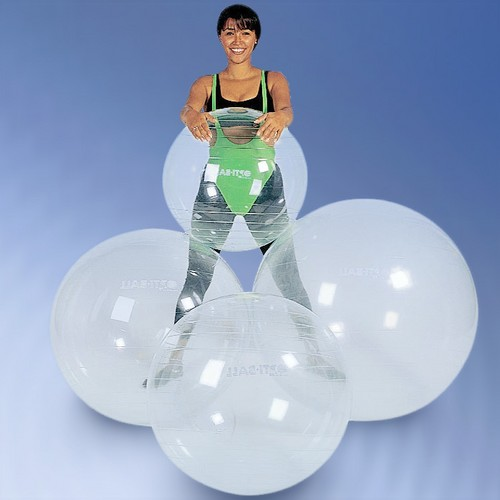 gymnastikball transparent